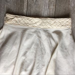 SuperB Skirts - SuperB - High-Low Skirt Off-White M